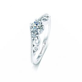 Ring setting with diamond (1)