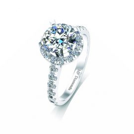 Ring setting with diamond (10)