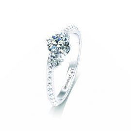 Ring setting with diamond (12)