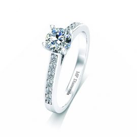 Ring setting with diamond (15)