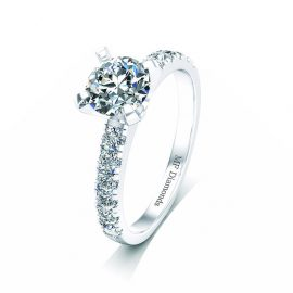 Ring setting with diamond (16)