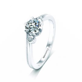 Ring setting with diamond (2)