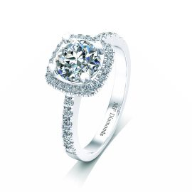 Ring setting with diamond (20)