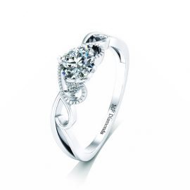 Ring setting with diamond (21)