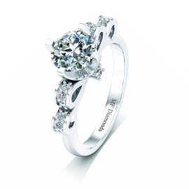 Ring setting with diamond (23)