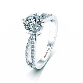 Ring setting with diamond (29)