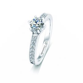 Ring setting with diamond (4)