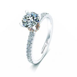 Ring setting with diamond (9)