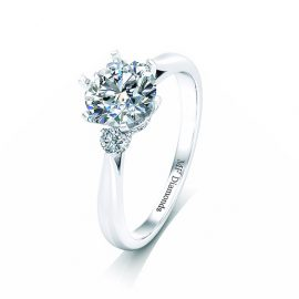 Ring setting with diamond A1ct (1)