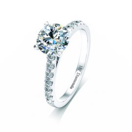 Ring setting with diamond A1ct (12)
