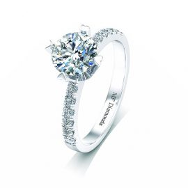 Ring setting with diamond A1ct (14)