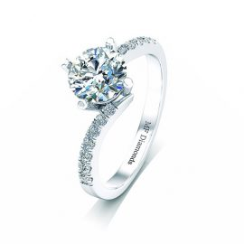 Ring setting with diamond A1ct (18)