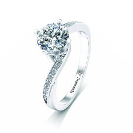 Ring setting with diamond A1ct (2)