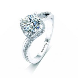 Ring setting with diamond A1ct (21)