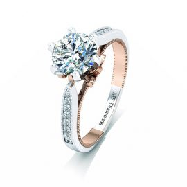 Ring setting with diamond A1ct (26)