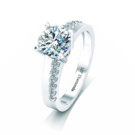 Ring setting with diamond A1ct (30)