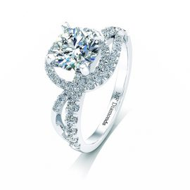 Ring setting with diamond A1ct (36)