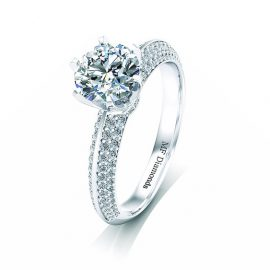 Ring setting with diamond A1ct (4)