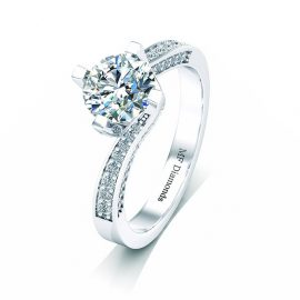Ring setting with diamond A1ct (7)