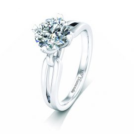 diamond ring setting plain (26)