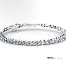 18K鑽石手鏈手鈪